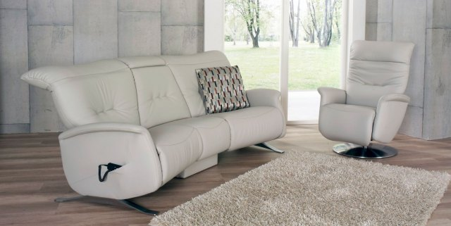Himolla Himolla Cygnet 3 Seater Sofa with Table