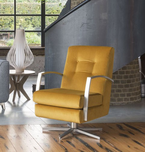Alstons Alstons Stockholm Swivel Chair