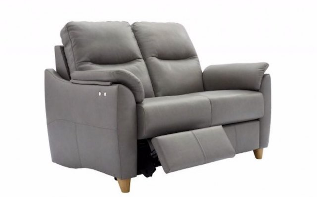 G Plan Spencer 2 Seater Power Recliner in Leather
