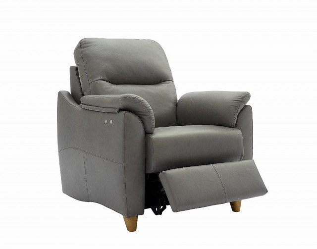 G Plan Spencer Power Recliner in Leather Ayr Ayrshire Hunter Furnishing