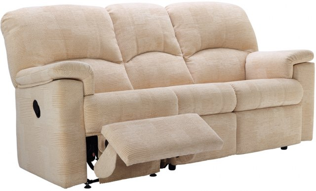 G Plan G Plan Chloe Fabric 3 Seater Power Recliner Sofa Double