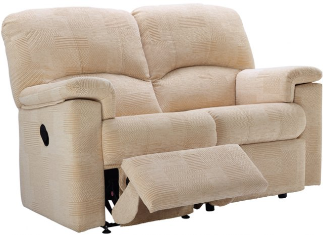 G Plan G Plan Chloe Fabric 2 Seater Recliner Sofa Double