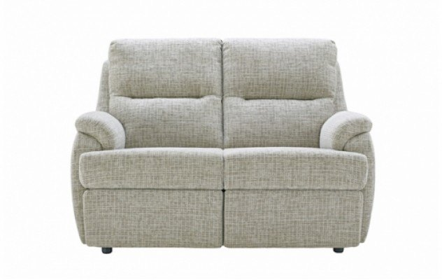 G Plan G Plan Hartford Fabric 3 Seater Recliner Sofa Double