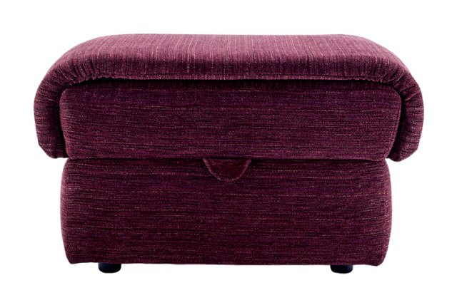 G Plan G Plan Henley Fabric Storage Footstool
