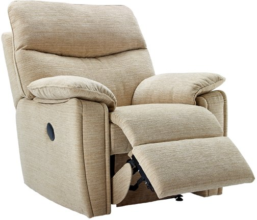 G Plan G Plan Henley Fabric Power Recliner Chair