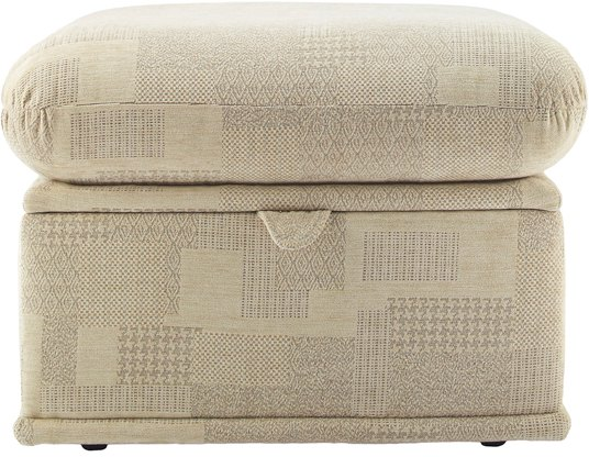 G Plan G Plan Malvern Fabric Storage Footstool