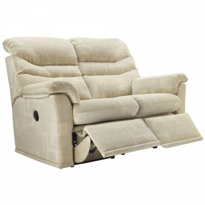 G Plan G Plan Malvern Fabric 2 Seater Power Recliner Sofa Double