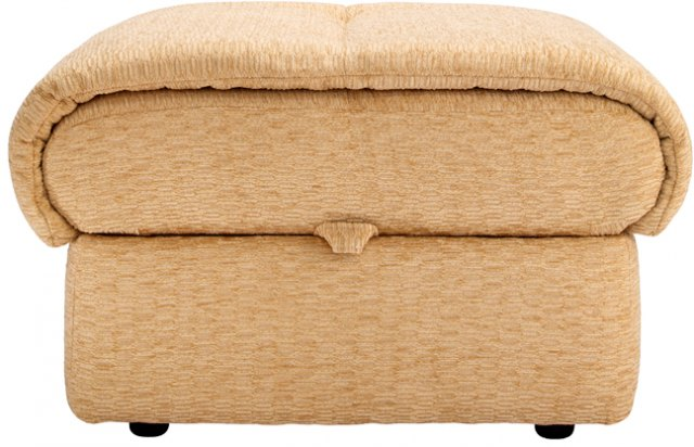 G Plan G Plan Mistral Fabric Storage Footstool