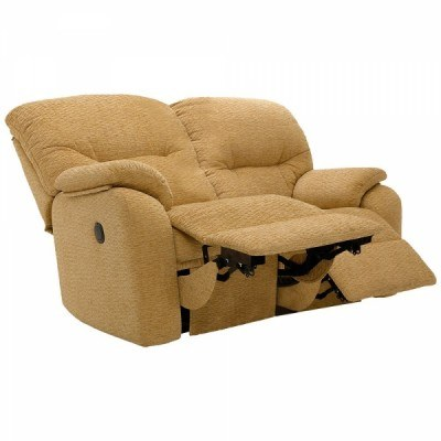 G Plan G Plan Mistral Fabric 2 Seater Recliner Sofa Double