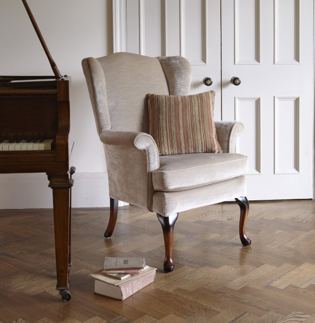 Parker Knoll Parker Knoll Hartley Fabric Wing Chair