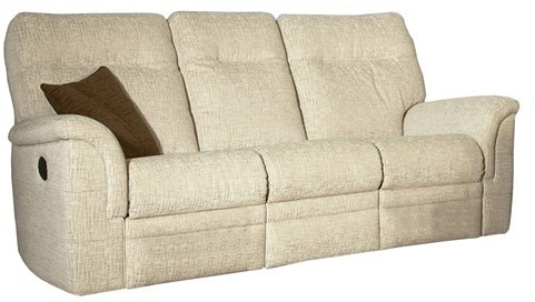 Parker Knoll Parker Knoll Hudson Fabric Power 3 Seater Sofa